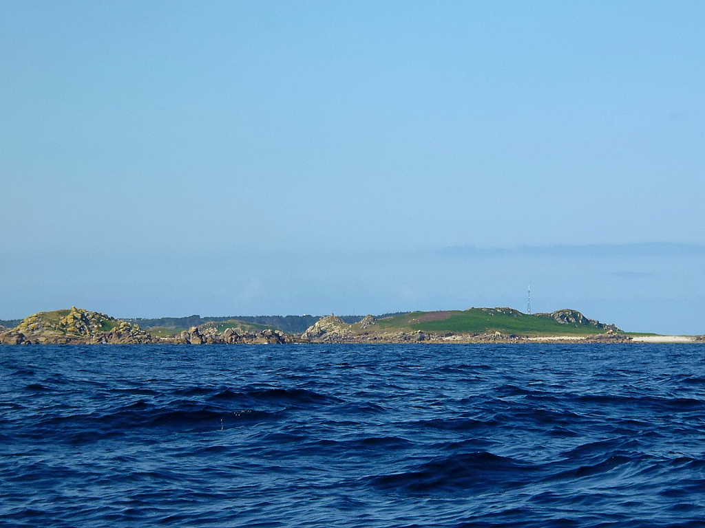 Approaching St Mary's Isles of Scilly