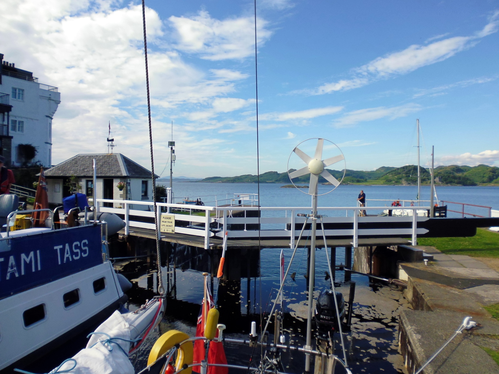 View from the Crinan lock