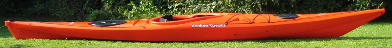 Easky 15 Kayak Side